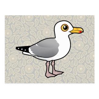 Gaviota de arenques de Birdorable Postal