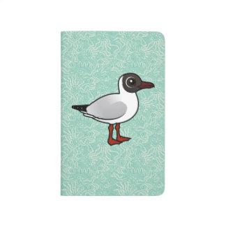 Gaviota de cabeza negra de Birdorable Cuadernos