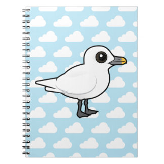 Gaviota de marfil de Birdorable Cuadernos