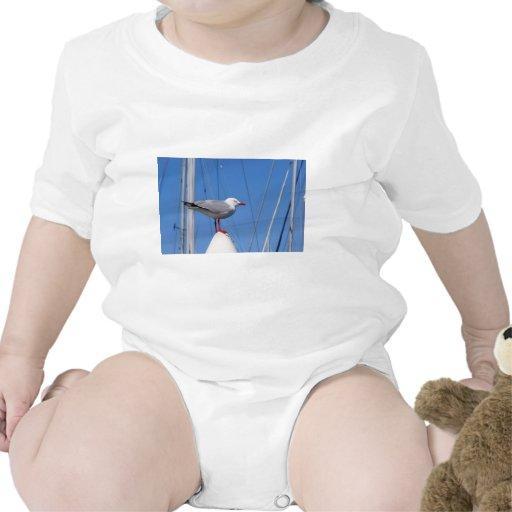 Gaviota de plata trajes de bebé