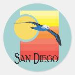 Gaviota de San Diego Pegatinas