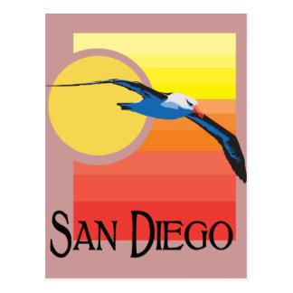 Gaviota de San Diego Tarjetas Postales