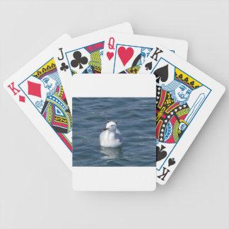 Gaviota en el agua baraja cartas de poker