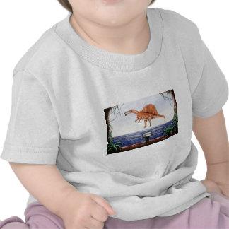 ¡Gaviota en la impresión de encargo del vuelo! Camisetas