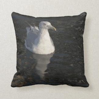 Gaviota flotante almohada