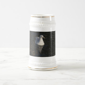 Gaviota flotante jarra de cerveza