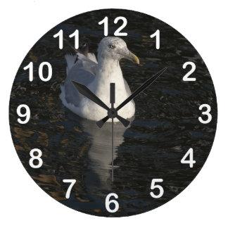 Gaviota flotante reloj