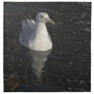 Gaviota flotante servilleta imprimida