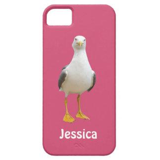 Gaviota hermosa - caso conocido femenino del iPhone 5 carcasa