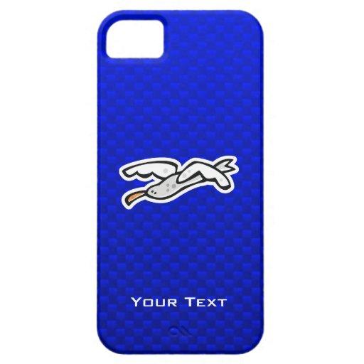 Gaviota linda; Azul iPhone 5 Coberturas