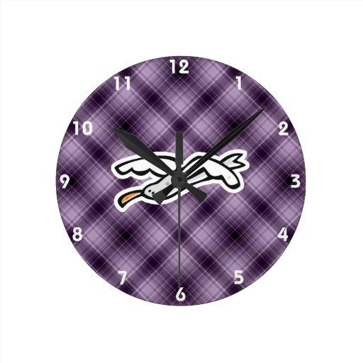 Gaviota linda; Púrpura Reloj