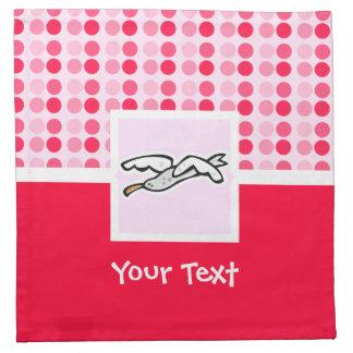 Gaviota linda servilleta de papel
