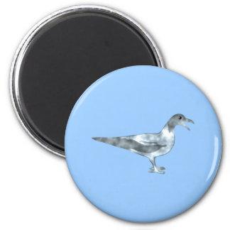 Gaviota seagull imán redondo 5 cm