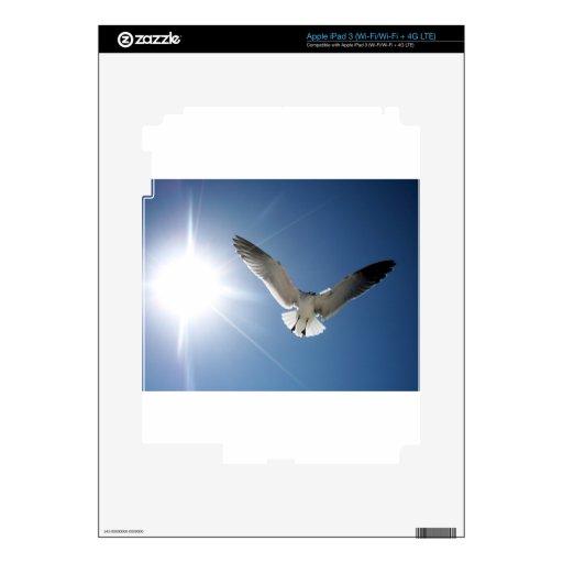 Gaviota y Sunligh iPad 3 Pegatinas Skins