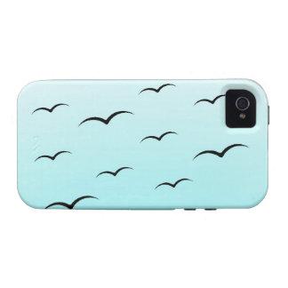 Gaviotas Case-Mate iPhone 4 Carcasa