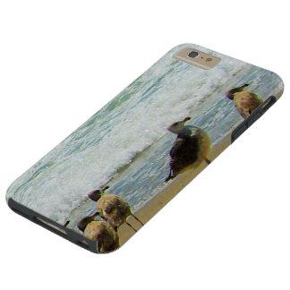 GAVIOTAS DE LA COSTA COLLECTION-SURFSIDE DE FUNDA DE iPhone 6 PLUS TOUGH