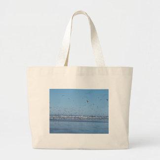 Gaviotas en vuelo bolsas