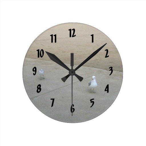 Gaviotas que vagan relojes