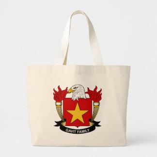 Gavit Family Crest Canvas Bag