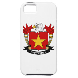 Gavit Family Crest iPhone 5 Covers