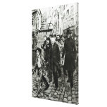 Gavroche Leading a Demonstration Canvas Print