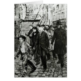 Gavroche Leading a Demonstration Card