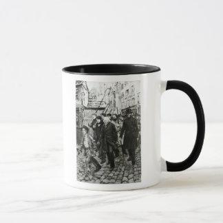 Gavroche Leading a Demonstration Mug