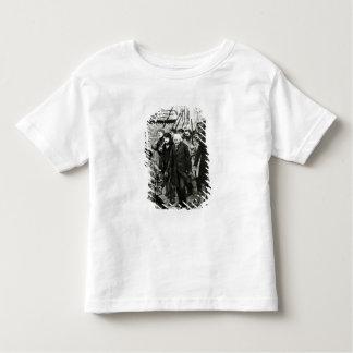 Gavroche Leading a Demonstration Toddler T-shirt