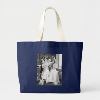 Gay 90's Party, 1930s Large Tote Bag