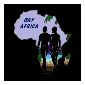 Gay Africa Travel Poster