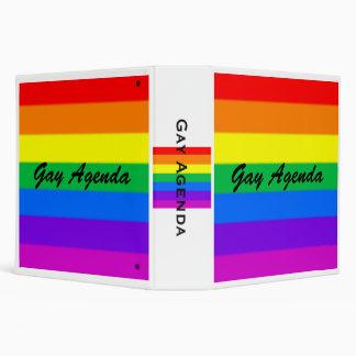 Gay Agenda Binder