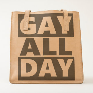 Gay All Day Tote