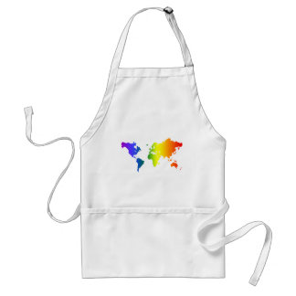 Gay all over the World Adult Apron