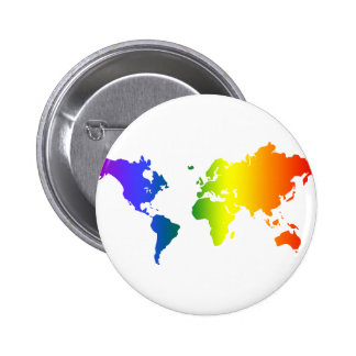 Gay all over the World 2 Inch Round Button