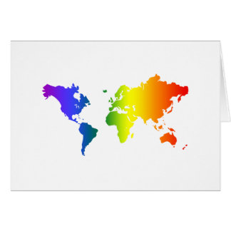 Gay all over the World Greeting Card