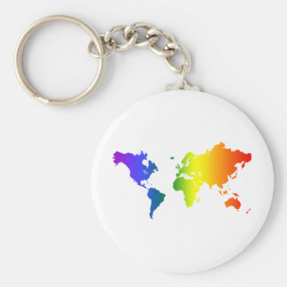 Gay all over the World Key Chains