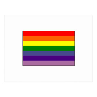 Gay Alliance Flag Postcard