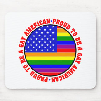 Gay American Gift Mouse Pad