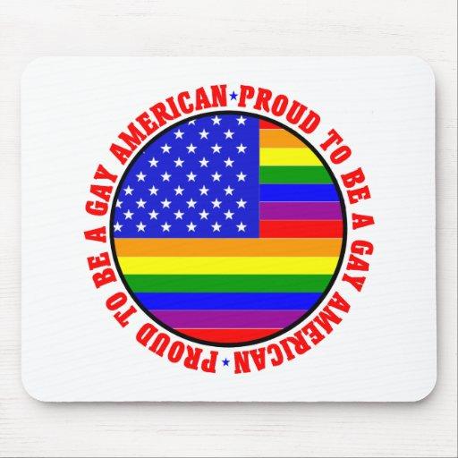 Gay American Gift Mousepads