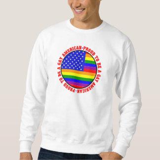 Gay American Gift Sweatshirt
