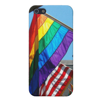 Gay American Pride iPhone SE/5/5s Cover