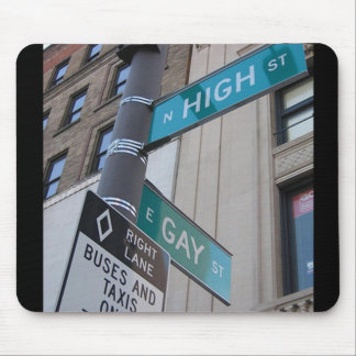 Gay and High Streets Mouse Pad
