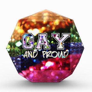 Gay and Proud Rainbow Design Award