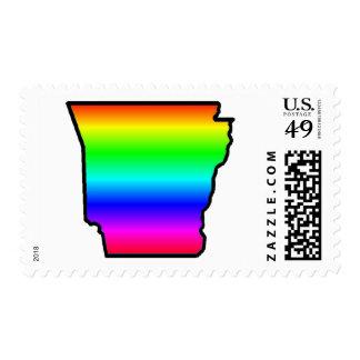 Gay Arkansas Postage Stamp