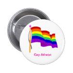 Gay Atheist Button