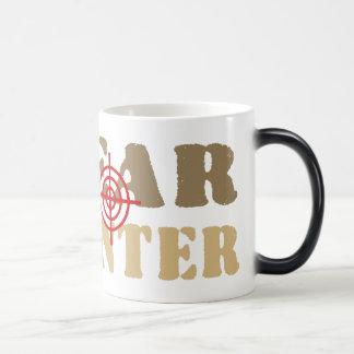 GAY BEAR BEAR HUNTER 11 OZ MAGIC HEAT Color-Changing COFFEE MUG