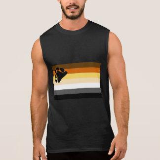 Gay Bear Flag LGBT Pride Sleeveless Shirt