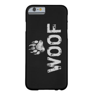 Gay Bear Pride distressed Bear Paw WOOF Barely There iPhone 6 Case