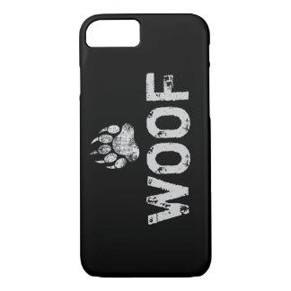 Gay Bear Pride distressed Bear Paw WOOF iPhone 7 Case