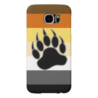 Gay Bear Pride Flag Bear Paw Samsung Galaxy S6 Case